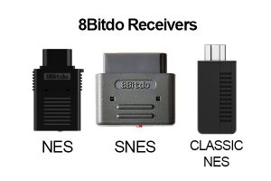8Bitdo Retro Receivers