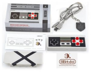 8bitdo Nes30 Bluetooth Controller Box