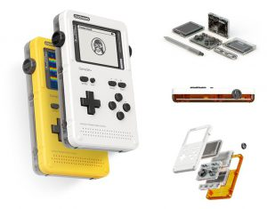ClockWork's GameShell Module Retro Gaming Handheld