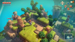 OceanHorn PS Vita Gameplay
