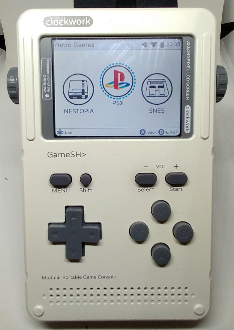 Game Shell PlayStation Emulation