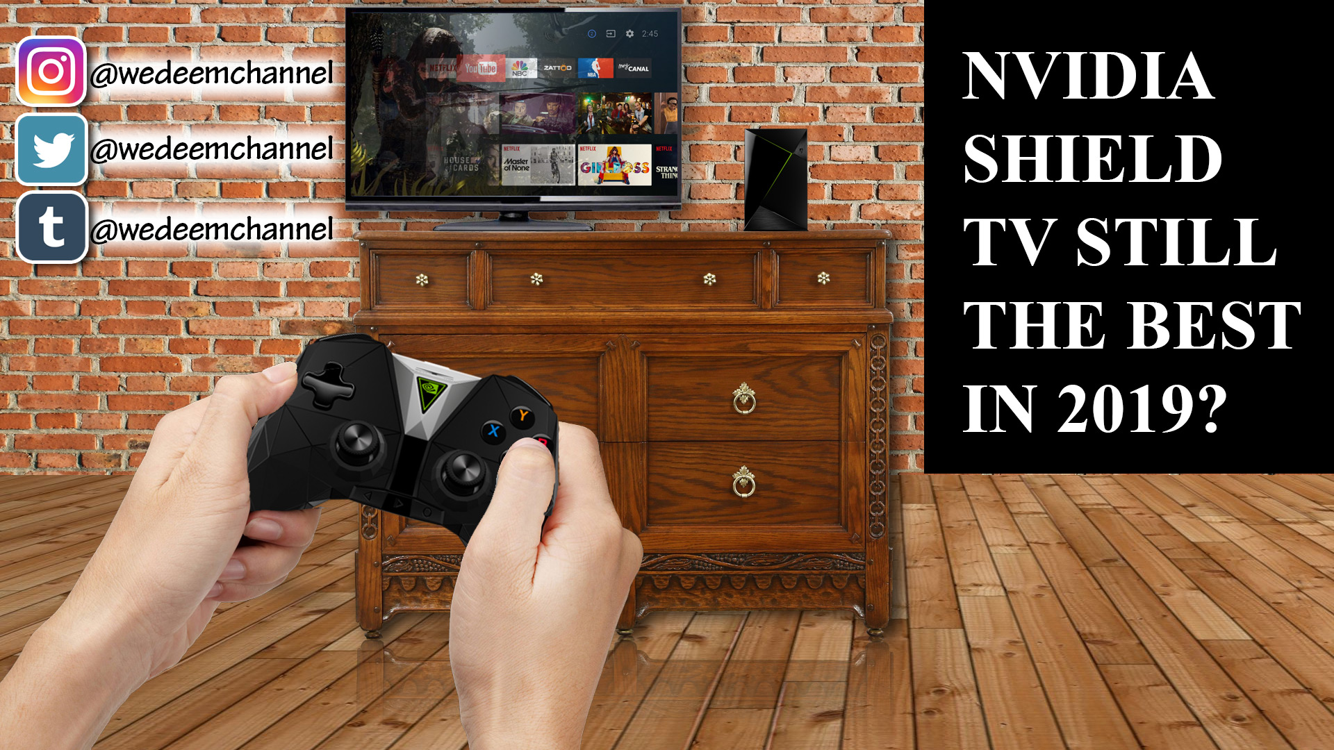 Nvidia Shield Tv Featured Image
