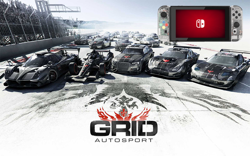 Grid AutoSports on the Nintendo Switch