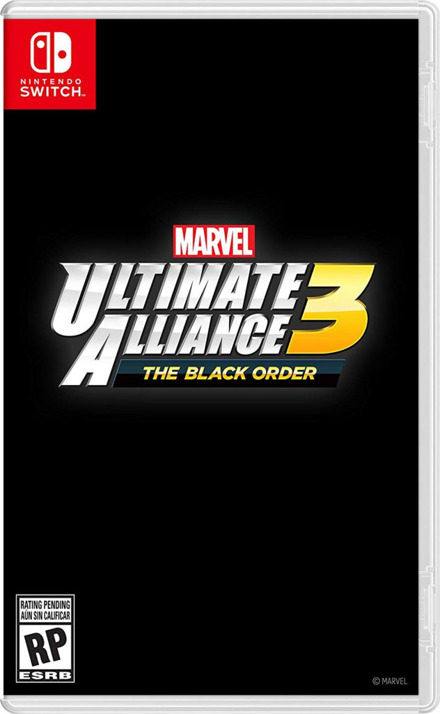 Marvel Ultimate Alliance Nintendo Switch Box