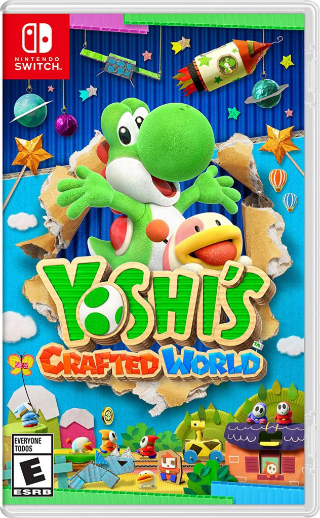 Yoshi's Crafted World Nintendo Switch Box